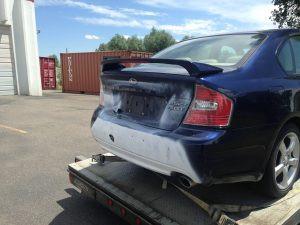 2005 Subaru Legacy RBP rear