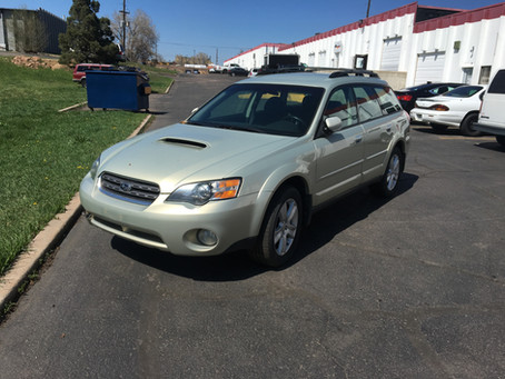 2005 Subaru Outback XT 2.5l 206k Auto 5EAT Gold
