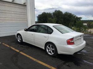2006 Legacy left rear