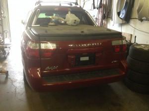 Part out 2005 Subaru Baja Turbo Automatic Transmission