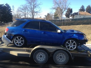 2004 Subaru WRX wagon RH