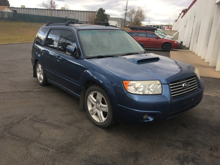 2007 Subaru Forester XT 2.5l 5speed M/T 201k Blue