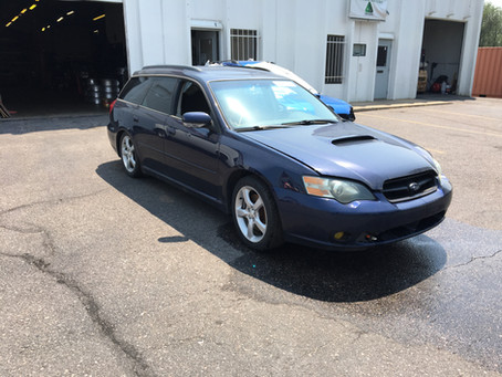 2005 Subaru Legacy GT wagon complete PART OUT 5 Speed manual 155k