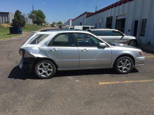 2002 Subaru WRX right side