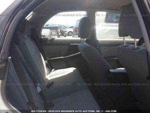 2004 Subaru Impreza Outback Sport rear seats