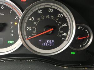 2005 Legacy Sedan cluster