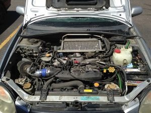 2003 Subaru WRX wagon engine