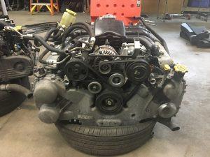 2011 Tribeca engine