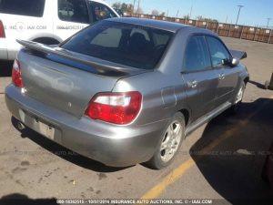 2005 Subaru RS sedan RR