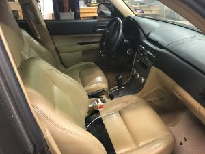 2005 Subaru forester interior