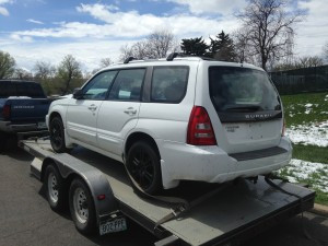 2005 Subaru Forester XT lr