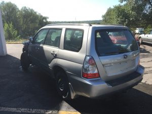 2007 Subaru forester left rear