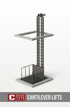 Summit Equipment, material lifts, material lift, cantilever lift
