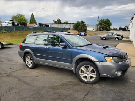 2005 Subaru Outback XT 2.5L 181k A/T Blue/gray