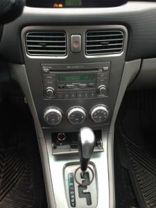 2008 Subaru Forester X Sports radio hvac