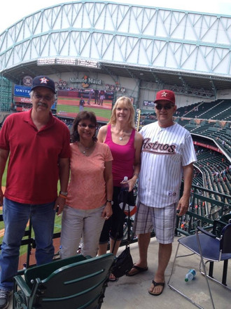 All of Us at Astros Game