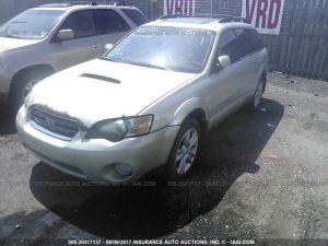 Subaru outback XT front left