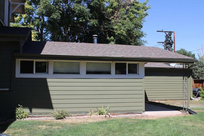 custom home siding