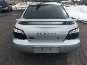 2004 Subaru WRX sedan auto rear