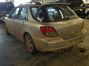 2003 WRX wagon left rear