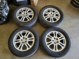 2005 Forester XT wheels and tires
