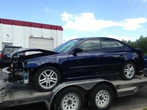 2005 Subaru Legacy 2.5i left