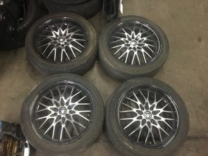 2003 WRX wagon wheels