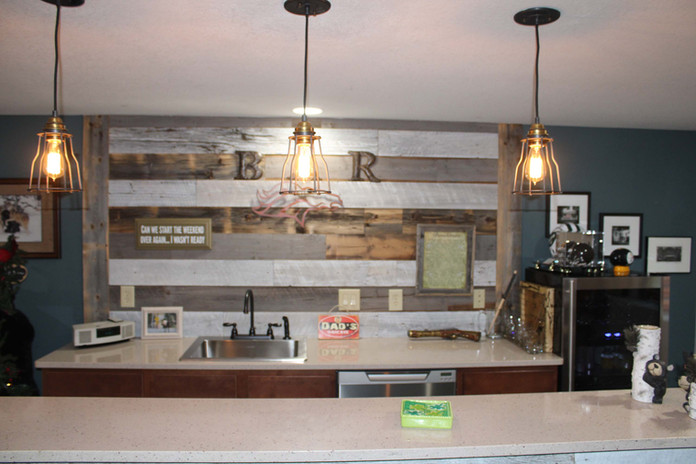 basement kitchen bar remodel