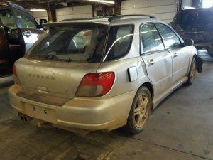 2003 WRX wagon right rear