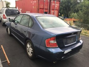 2005 legacy sedan left rear
