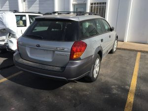 2006 Outback wagon right rear