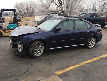 2005 Subaru Legacy sedan 2.5l 112k M/T 5speed blue