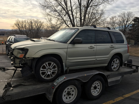 2005 Subaru Forester XT 2.5l Auto 4eat 132k Gold