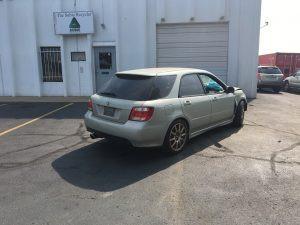 2005 92X right rear