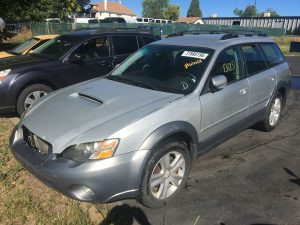 2005 Outback XT left front
