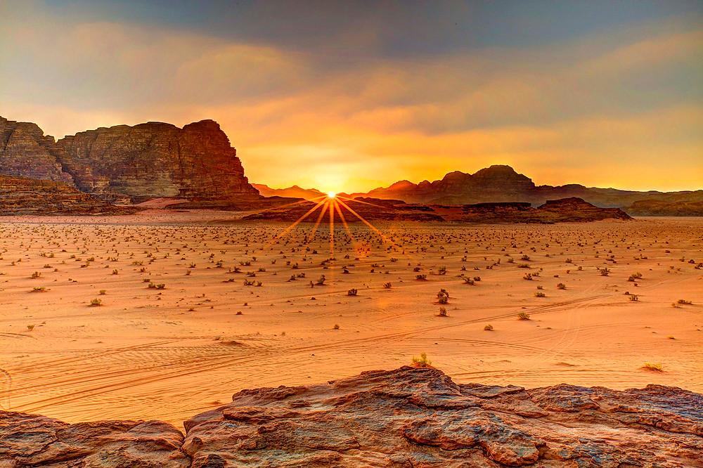 wadi sunset
