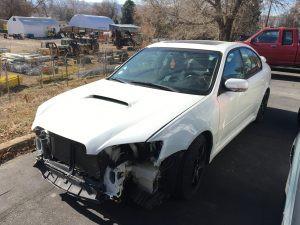 2005 Legacy GT front left