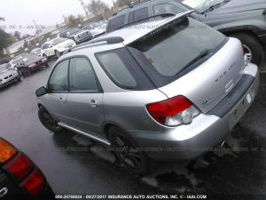 2005 Subaru wrx wagon left rear
