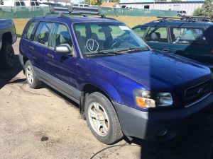 2003 Subaru Forester X Automatic 151k Complete part out