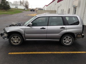 2008 Subaru Forester X Sports Left