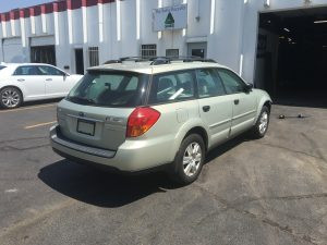 2005 Outback right rear
