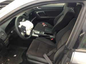 2008 Subaru Outback 2.5i interior
