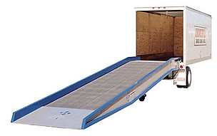 Summit Equipment, Portable dock voards, mobile yard ramps, dock to ground ramps