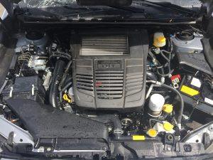 2016 Subaru WRX engine bay