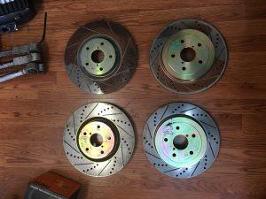 2006 STI rotors
