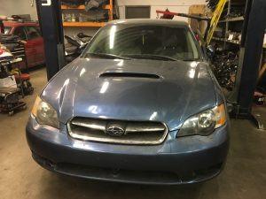 2005 Subaru Legacy sedan front