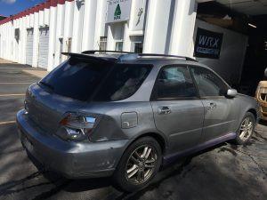 2005 WRX wagon right rear