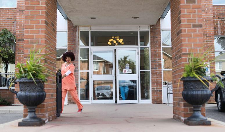 Burton manor front doors