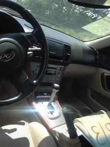 2005 Subaru Legacy RBP interior 2