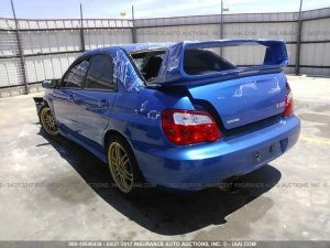 2004 STI WRB left rear